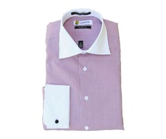 Buy Slim Fit French Cuff Dress Shirts for $29.99 Only