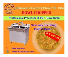 Bowl Chopper; Professional Processor 20 liter - Bowl Cutter