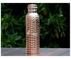 Shop for Copper Water Bottle Hammered Leak-Proof1000 ml