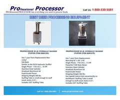best dear processing equipment