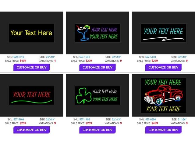 neon sign custom affordable | free-classifieds-usa.com
