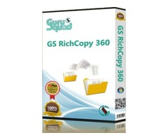 GS RichCopy 360 Enterprise - File Fast copy or sync software and rsync for windows.