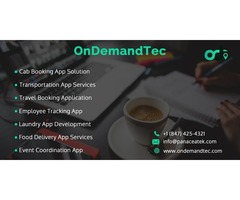 OnDemand App Development Company | OnDemand App Development Solutions