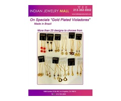 """On Specials """"Gold Plated Violadores"""" Made in Brazil"""