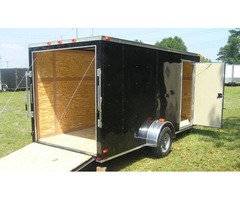 "Moving Trailer 6 x 14 ft with Single Axle and Additional 3 "" Height"