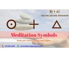 Meditation  Symbols from Balancing Program-Get Balanced & Locked
