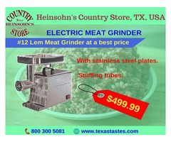Electric Meat Grinder for sale | #12 Lem Meat Grinder at best price