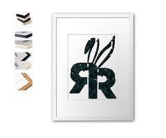 Random Rabbit Design Home Decor ~ Wall Art, Pillows, Clock, Duvet etc