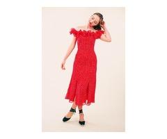 The Moonshine Midi Dress from Keepsake