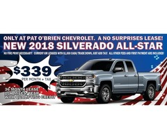 Explore our lineup of new Chevrolet vehicles
