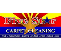 Five Star Carpet Cleaning-Carpet Cleaning In Mesa