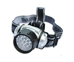 19-LED Headlight 19 LEDs Bulb 4-Mode Headlamp Flashlight Torch Lamp