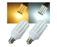 E27 15W 5630SMD 84 LED Corn Light Bulb Lamps Energy Saving 220V