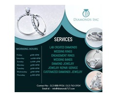 Get Reasonable Diamonds From Diamonds Inc, Branded Store in Chicago
