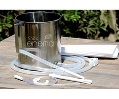 Shop for our 2-Quart Stainless Steel Enema Equipment