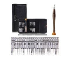DANIU 25 in 1 Multi-purpose Precision Screwdriver Wallet Set Repairtools