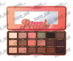 Factory Direct DHL Free Shipping New Makeup Eye Limited Edition Sweet Peach Palette 18 Colors Eyesha