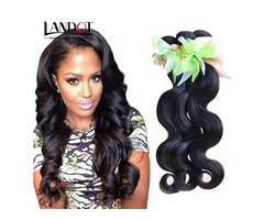 Brazilian Virgin Hair Body Wave 100% Human Hair Weave Bundles Unprocessed Peruvian
