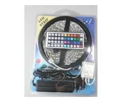 Led Strip Light RGB 5M 5050 SMD 300Led Waterproof IP65 + 44Key Controller