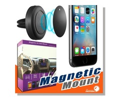 Car Mount, Air Vent Magnetic Universal Car Mount Phone Holder for iPhone 6/6s
