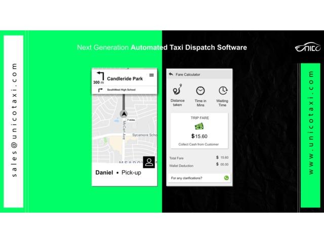 Cab Dispatch Software - unicotaxi - Software - Aiea - Georgia