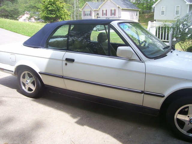 Bmw Convertible 325i 1987