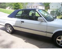 BMW Convertible 325i 1987