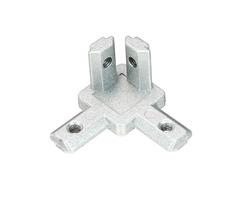Suleve™ CJ20 T Slot 3 Way 90 Degree Inside Corner Connector Joint Bracket for 2020 Series Aluminum P