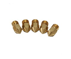 Creality 3D® 5PCS 0.4mm Copper M6 Thread Extruder Nozzle For 3D Printer