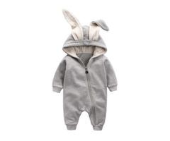 Bunny Ears Baby Rompers