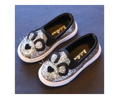 Sequin Cat Style Girls Fashion Shoes