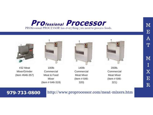 buy meat mixers online - ProProcessor.com   free-classifieds-usa.com