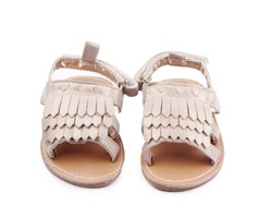 Tassles Suede Baby Girls Princess Shoes