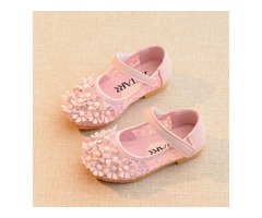 Flowers Girls Spring Autumn Hollow Out Shoes