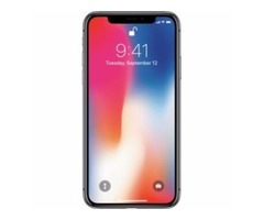 Apple - iPhone X 64GB - Space Gray (Sprint)