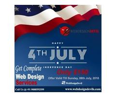 Independence Day Offer Get Complete Website $150 Only