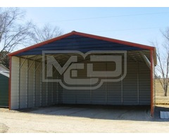 Triple Metal Carports - Affordable Carport Solutions