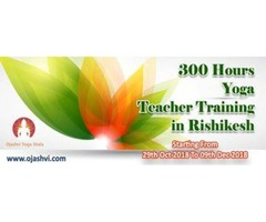 300 Hours Hatha Yoga teacher training in Rishikesh