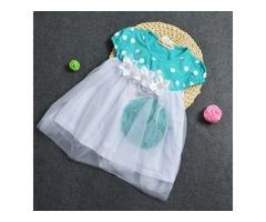 Sweet Polka Dots Baby Girls Dress
