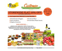 Super Big Sale Customer Appreciation Month @ MyHomeGrocers.com