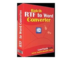 Best RTF to Word Converter software  to convert RTF to Doc files