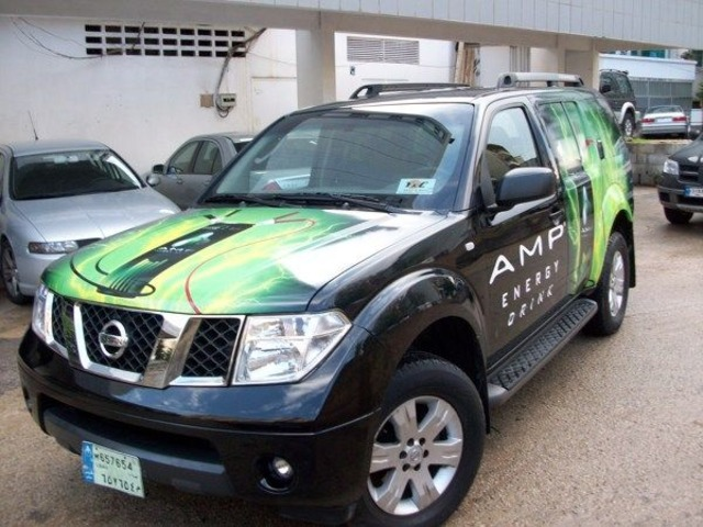 Amp Energy Drink Advertisement Car Wrap for $350 Weekly | free-classifieds-usa.com