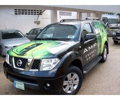 Amp Energy Drink Advertisement Car Wrap for $350 Weekly
