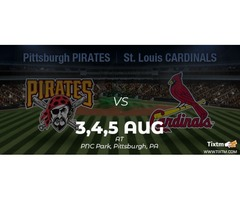 Pittsburgh Pirates vs. St. Louis Cardinals at Pittsburgh - Tixtm.com