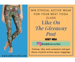 Win Ethical Active Wear For Your Next Yoga Class