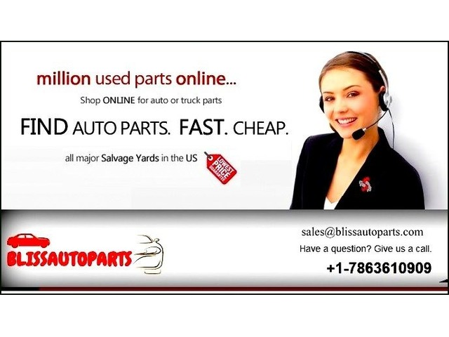 Buy Used Auto Parts Online For Car From Bliss Auto Parts Auto