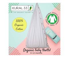 Kural 33,100% Organic baby thotil , Baby thottil , super soft thottil