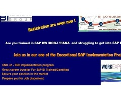SAP HANA/BW/BOBJ Implementation Project - Starting New Batch on Aug-10 '2018 | free-classifieds-usa.com