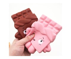 Squishy Chocolate Bar Slow Rising 13cm Jumbo Cute Kawaii Collection Decor Gift  Toy