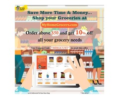 Shop your Groceries Online Carrollton,Texas - MyHomeGrocers